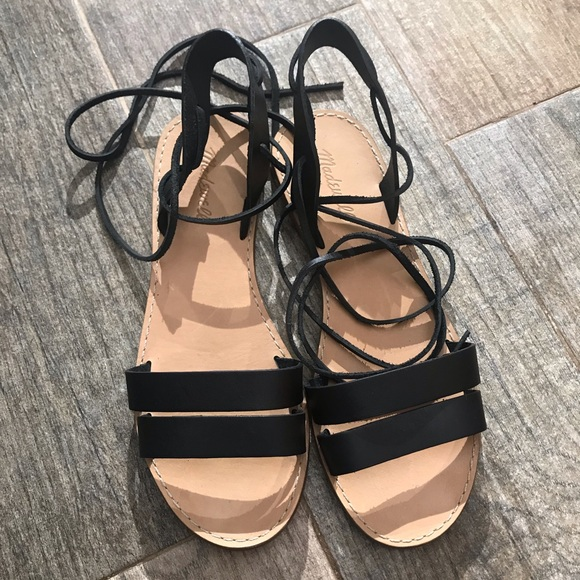 Madewell Shoes - Madewell Lace-up gladiator sandal size 9